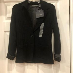 New Liz Claiborne cardigan sweater lined size S